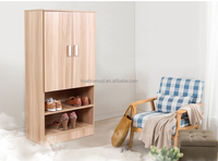 Hualin the fashion wardrobe bedroom cabinets/closets design modern wood