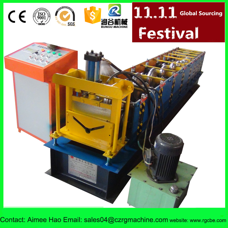 including sea freight roof ridge cap roll forming machine pass CE for roofing building curving machine prices TOP factory