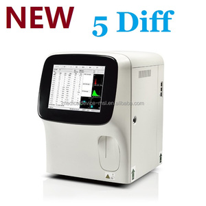 CE Approved full automatic 5 diff hematology analyzer veterinary/ vet / animals laboratory blood test equipment