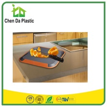 2017 hot sale 38*30 cm pp tpe asia market ISO 9001 pe cutting board for meat