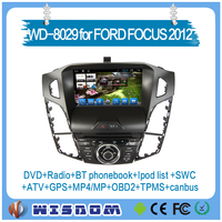 Factory oem car audio for ford focus 2012 with touch screen car gps music player gps navigation dvd player support wifi internet