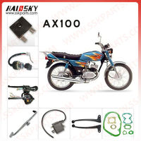 HAISSKY brand cheap chinese motorcycle engine spare parts for AX 100 motor manufactured in China