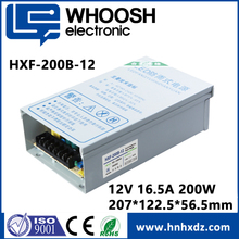 200w constant voltage led driver transformer waterproof 12v 16.5a power supply