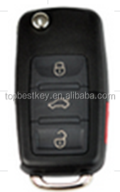 Topbest flip key blanks wholesale universal remote control car key for all brands