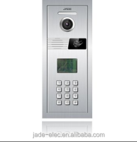 Access Control Vandal Resistant Building Video Intercom Systems