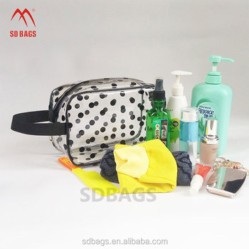 Wholesale waterproof makeup clear pvc waterproof bag products made in china