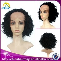 Aliexpres Wholesale Cheap Short Afro Kinky Lace Human Hair Wigs