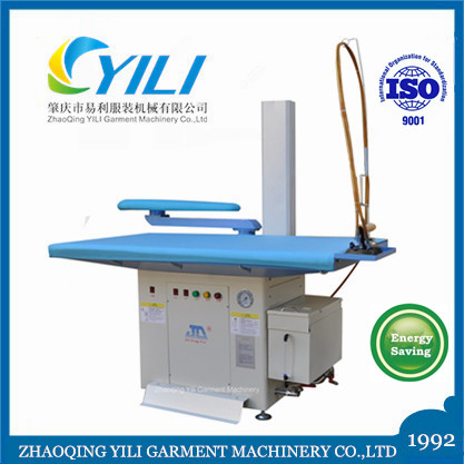 Hotel commercial industrial laundry fully automatic garment clothes steam suction vacuum ironing table board machine price