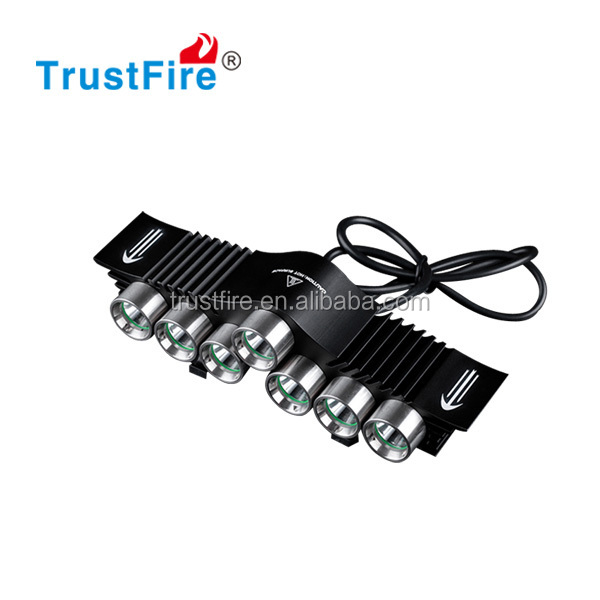 2014 new model D013 bicycle led light with 7 cree xml -2 waterproof strong light outdoor bike light