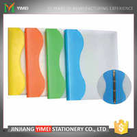 fast shipment loose leaf white cover pp A4 ring binder file for office