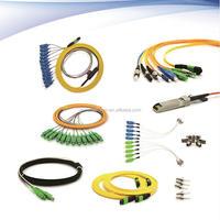Fiber Optic SC/FC/LC/ST PC/APC Simplex/Duplex SingleMode/MulitiMode Patch Cord Jumper Wire