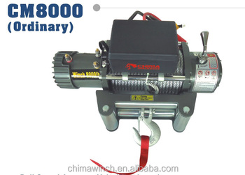 4WD Electric Winch 8000LBS 12V CE Approved High Performance