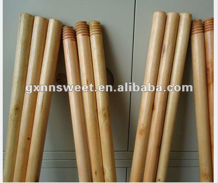Fabrica directamente palo de escoba de madera barnizada - Limpieza de madera barnizada ...