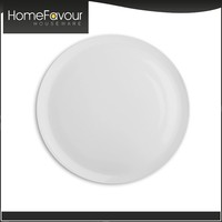 Onsite Checked Factory SGS Standard Hotelware Plain White Porcelain Dinnerware