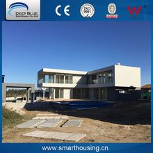 High quality prefabricated a frame homes