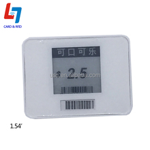 HD 1.54'', 2.13'', 2.9'' Wireless E-paper NFC Enabled Electronic Shelf Label, Price Tag for Supermarket