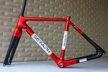2016 cheaper than other company Disc Brake cyclocross carbon frame, cyclocross frame disc