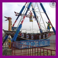 ODM New Design Hot Sale High Quality And Cheapest Pirate Boat Rides Amusement Swing Rides