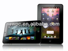 "2012 BEST 7"" Capacitive phone tablet pc, WIFI,0.3mp Cameras"