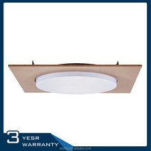 Waterproof IP65 bathroom black fitting fluorescent office ceiling light fixture