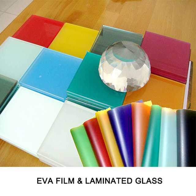 Fangding manufacturer transparent EVA film for laminated glass