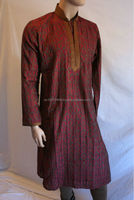 Designer Mens Kurta Australia - RICH WEDDING MENS KURTA - Kurta Shalwar Designs for Men with heavy embroidery - Pakistani Men's