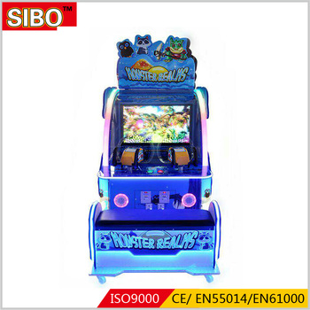 amusement coin operated shooting games machine arcade game machine for shopping mall water shooting machine