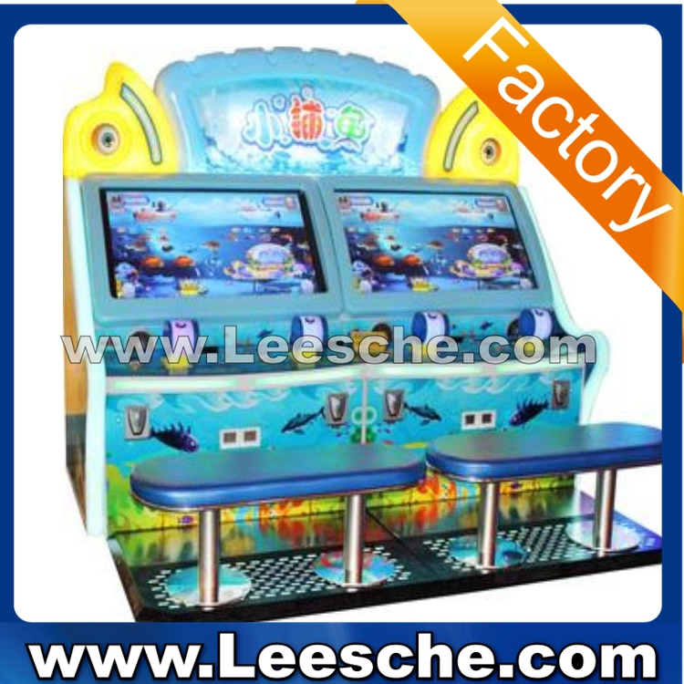 LSJQ-677 4 players competitive fishing catcher game machine for game center
