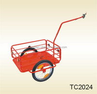 Huatian Durable steel bicycle trailer TC2024 ,semi-trailer