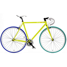 2015 new style 40mm alloy rim colorful road bike/bicycle fixed/fixie gear bike , single gear speed