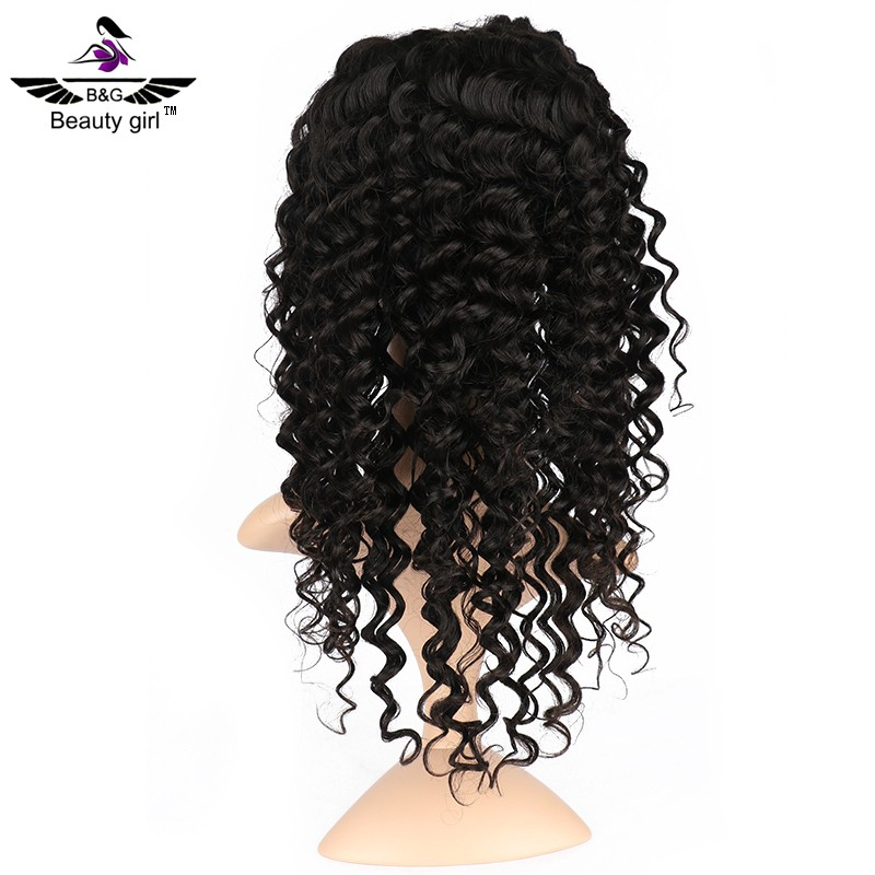 Large stock fashion spiky hair wigs deep wave human hair wigs philippines high ponytail full lace wigs