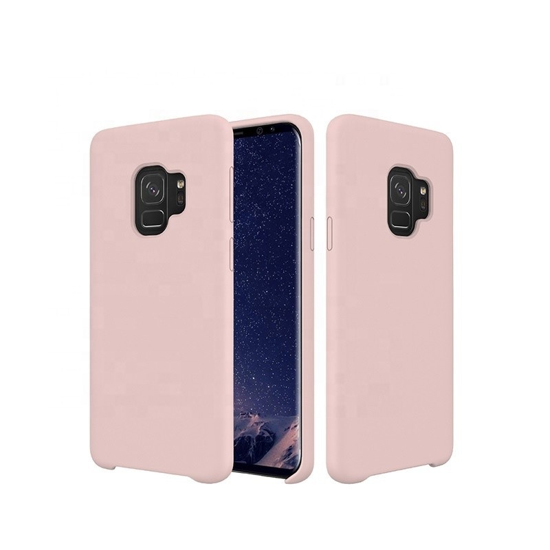 For Samsung S9 Liquid Silicone Shockproof Anti Fingerprint <strong>Phone</strong> Case