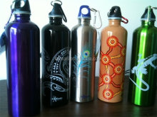Bpa free stainless steel sports water bottle drink bottle carrier