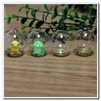* 6MM/8MM/10MM/12MM/14MM/16MM/18MM/20MM/25MM Mini Glass blowing bubbles.clear hollow ball pendant, clear hollow 10mm glass ball