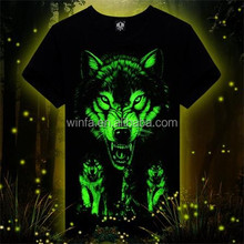2015 Night Light 3d Party Night Light Low Price T shirt Top