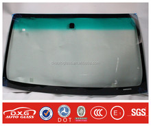 Guangzhou popular models best quality auto glass for Hilux Cab