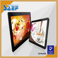 15 inch LCD Indoor Touch Screen Advertising monitor