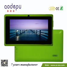 "ZXS- Wholesale 7"" Dual Core Dual Camera Android Tablet MID Factory Q88 Tablet pc MID With CE ROHS"