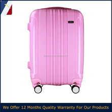 2016 cute suitcase for girls colorful hard shell pp luggage