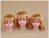 Head mold children infant mannequin head with wig