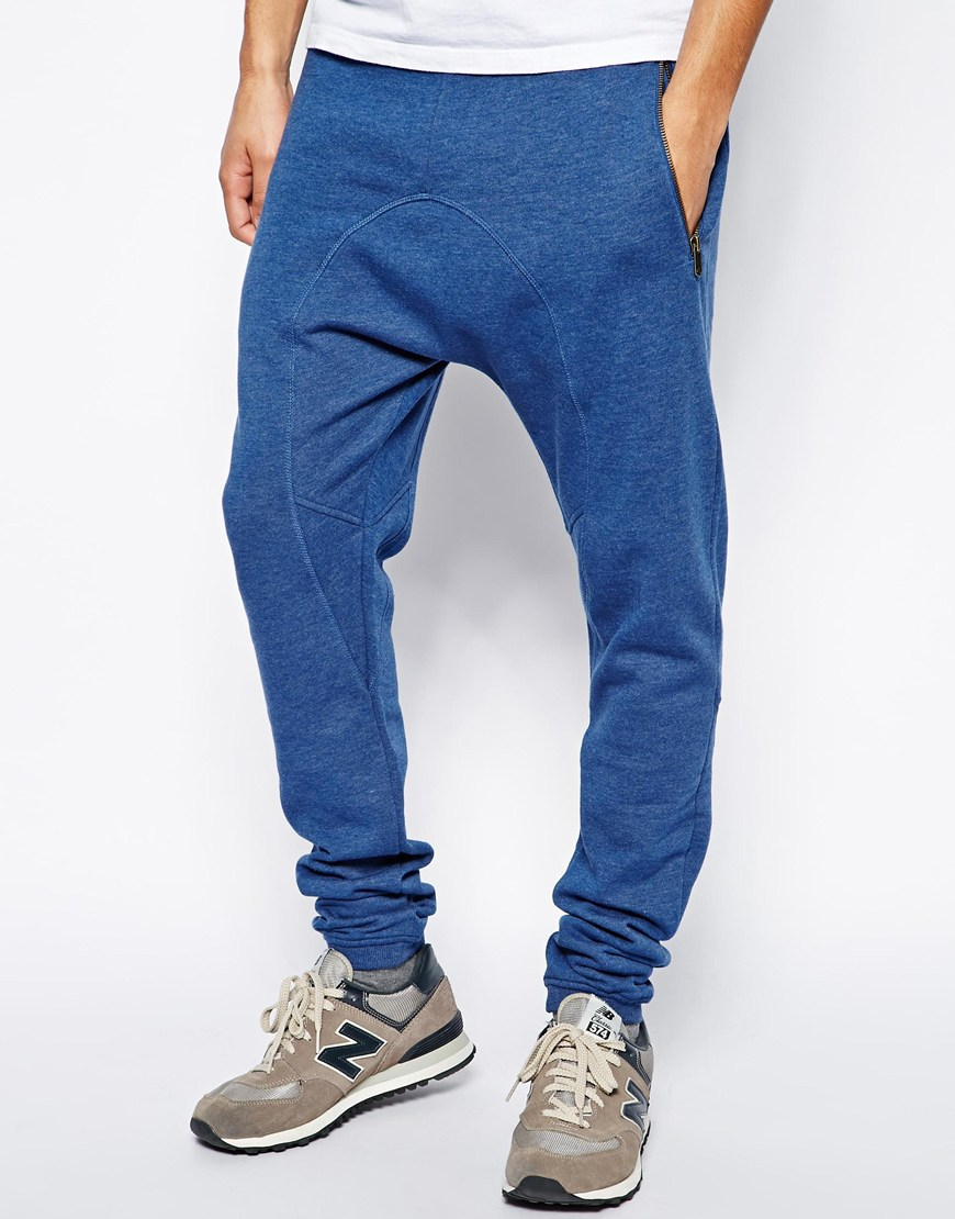 Men's Sweatpants With Drop Crotch