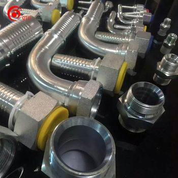 compression metric eaton hydraulic pressure hose fitting