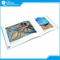Low cost full color OEM softcover book