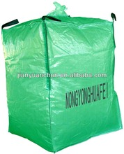 Ventilated jumbo bag for packing potatoes, onions, firewood