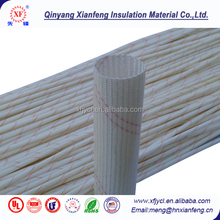 Factory directing electrical insulation material 2715 PVC fiberglass sleeving