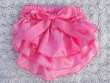 2015 Easter Sales Promotion!Baby Organic Underwear So Adorable satin Bloomers Wholesale Baby Cotton Ruffle Bloomers For Kids