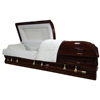 DEMILLE plastic and wooden casket coffin for burial