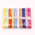 100% polyester single face high quality decorative satin ribbon wholesaler