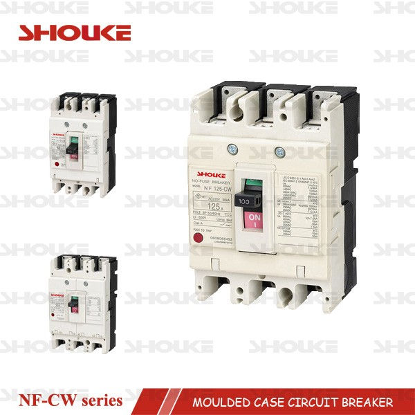 SKW NF125-CW 125a mccb moulded case circuit breaker