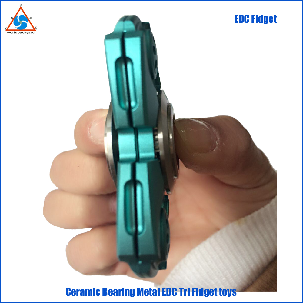 WB2 Over 3 mins Spin Time Fancy Color Finger top ADHD Cure Si3N4 Ceramic Bearing EDC Fidget Toy